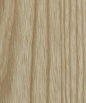 Ash natural lacquered